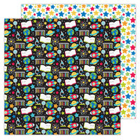 Doodlebug Design - School Days - 12 x 12 Double Sided Paper - Scientific