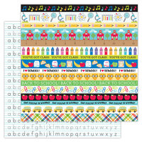 Doodlebug Design - School Days - 12 x 12 Double Sided Paper - Just Write
