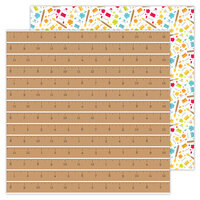 Doodlebug Design - School Days - 12 x 12 Double Sided Paper - Good Measure