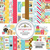 Doodlebug Design - I Heart Travel - 6 x 6 Paper Pad