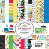 Doodlebug Design - School Days - 6 x 6 Paper Pad