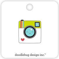 Doodlebug Design - I Heart Travel - Collectible Pins - Say Cheese