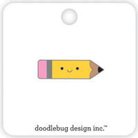 Doodlebug Design - School Days - Collectible Pins - Pencil