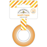 Doodlebug Design - Candy Carnival Collection - Washi Tape - Candy Corn Stripe