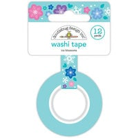 Doodlebug Design - Winter Wonderland Collection - Washi Tape - Ice Blossoms
