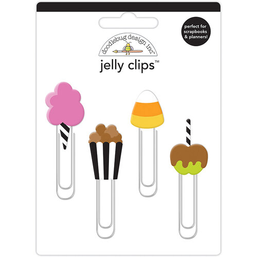 Doodlebug Design - Candy Carnival Collection - Jelly Clips