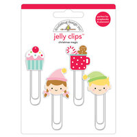 Doodlebug Design - Christmas Magic Collection - Jelly Clips