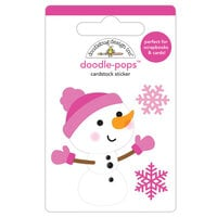 Doodlebug Design - Winter Wonderland Collection - Doodle-Pops - 3 Dimensional Cardstock Stickers - Crystal