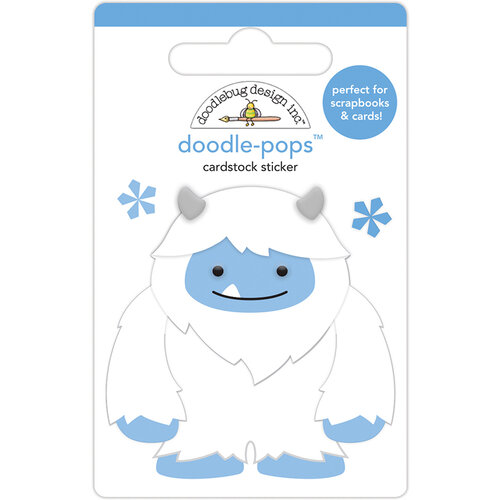 Doodlebug Design - Winter Wonderland Collection - Doodle-Pops - 3 Dimensional Cardstock Stickers - Harry