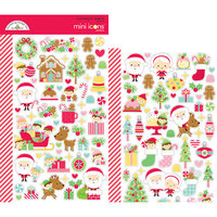 Doodlebug Design - Christmas Magic Collection - Cardstock Stickers - Mini Icons