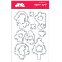 Doodlebug Design - Christmas Magic Collection - Doodle Cuts - Dies