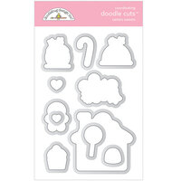 Doodlebug Design - Christmas Magic Collection - Doodle Cuts - Dies - Santa's Sweets