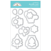 Doodlebug Design - Winter Wonderland Collection - Doodle Cuts - Dies