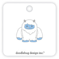 Doodlebug Design - Winter Wonderland Collection - Collectible Pins - Yeti