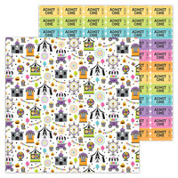 Doodlebug Design - Candy Carnival Collection - 12 x 12 Double-Sided Paper - Candy Carnival
