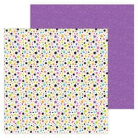 Doodlebug Design - Halloween - Candy Carnival Collection - 12 x 12 Double-Sided Paper - Star Attraction