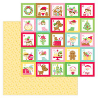 Doodlebug Design - Christmas Magic Collection - 12 x 12 Double Sided Paper - Christmas Magic