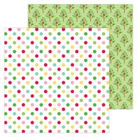 Doodlebug Design - Christmas Magic Collection - 12 x 12 Double Sided Paper - Jolly Holiday