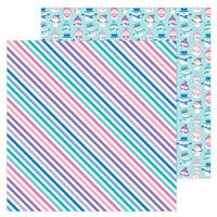 Doodlebug Design - Winter Wonderland Collection - 12 x 12 Double Sided Paper - Just Chillin