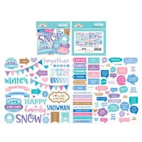 Doodlebug Design - Winter Wonderland Collection - Chit Chat - Die Cut Cardstock Pieces