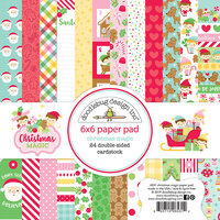 Doodlebug Design - Christmas Magic Collection - 6 x 6 Paper Pad