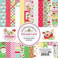 Doodlebug Design - Christmas Magic Collection - 6 x 6 Paper Pad