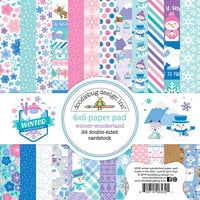 Doodlebug Design - Winter Wonderland Collection - 6 x 6 Paper Pad