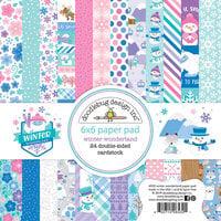 Doodlebug Design - Winter Wonderland Collection - 6 x 6 Paper Pad