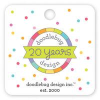 Doodlebug Design - Collectible Pins - 20th Birthday