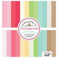Doodlebug Design - Christmas Magic Collection - 12 x 12 Petite Print Assortment Pack