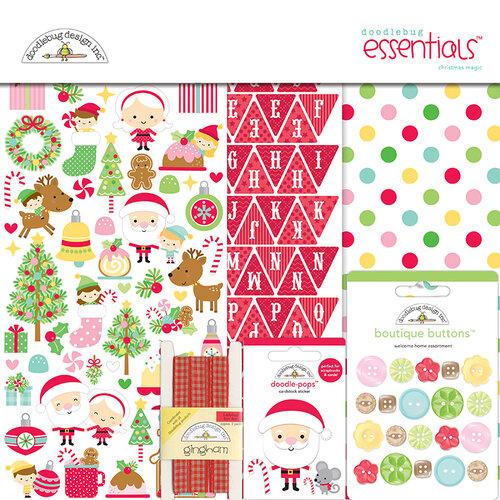 Doodlebug Design - Christmas Magic Collection - 12 x 12 Essentials Kit