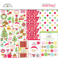 Doodlebug Design - Christmas Magic Collection - 12 x 12 Essentials Kit