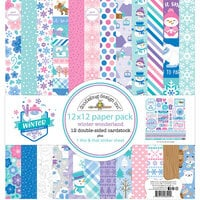 Doodlebug Design - Winter Wonderland Collection - 12 x 12 Paper Pack