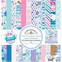 Doodlebug Design - Winter Wonderland Collection - 12 x 12 Paper Pack