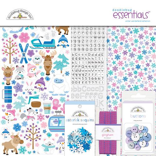 Doodlebug Design - Winter Wonderland Collection - Essentials Kit