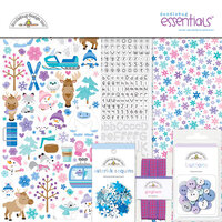 Doodlebug Design - Winter Wonderland Collection - Essentials Kit