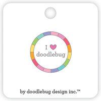 Doodlebug Design - Collectible Pins - I Heart Doodlebug