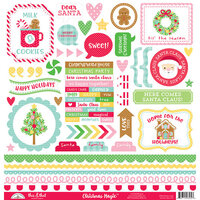 Doodlebug Design - Christmas Magic Collection - 12 x 12 Cardstock Stickers - This and That
