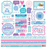 Doodlebug Design - Winter Wonderland Collection - Cardstock Stickers - This and That