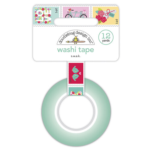Doodlebug Design - Love Notes Collection - Washi Tape - S.W.A.K.