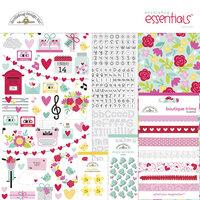 Doodlebug Design - Love Notes Collection - Essentials Kit