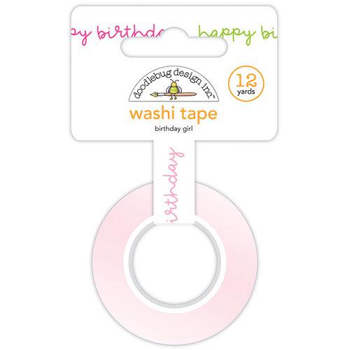 Doodlebug Design - Hey Cupcake Collection - Washi Tape - Birthday Girl