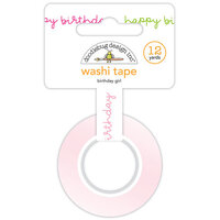 Doodlebug Design - Hey Cupcake Collection - Washi Tape - Birthday Girl