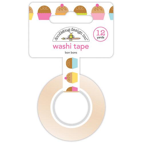 Doodlebug Design - Hey Cupcake Collection - Washi Tape - Bon Bons