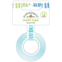 Doodlebug Design - Party Time Collection - Washi Tape - Happy Birthday