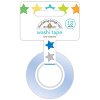 Doodlebug Design - Party Time Collection - Washi Tape - Let's Celebrate