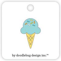 Doodlebug Design - Party Time Collection - Collectible Pins - Sugar Cone