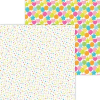 Doodlebug Design - Hey Cupcake Collection - 12 x 12 Double Sided Paper - Funfetti