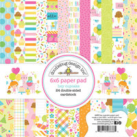 Doodlebug Design - Hey Cupcake Collection - 6 x 6 Paper Pad
