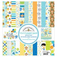 Doodlebug Design - Party Time Collection - 12 x 12 Paper Pack